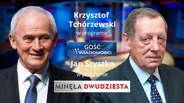 Gośćmi TVP Info będą Krzysztof Tchórzewski oraz prof. Jan Szyszko (fot. TVP Info)
