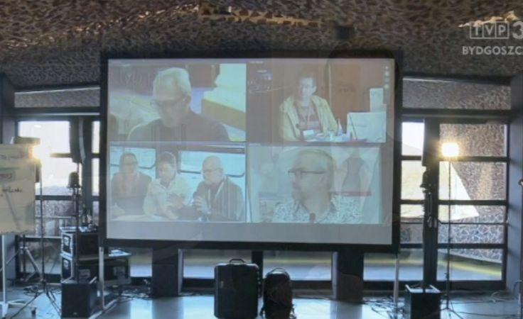 Pokazali, jak dzięki IT można prowadzić telekonferencje