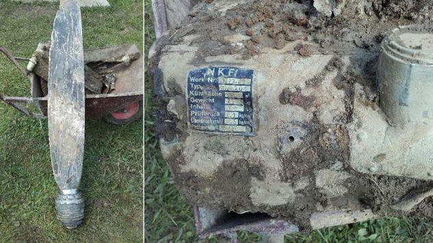 Szczątki odkryto w Świerzowej Polskiej (fot. podkarpacka.policja.gov.pl)