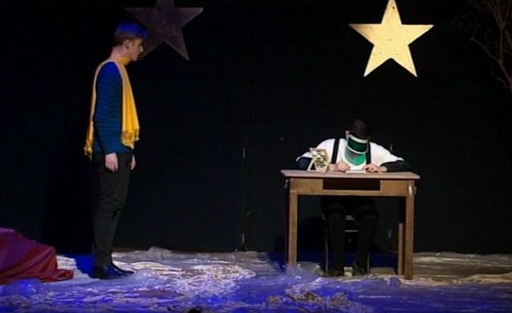 Jak wygląda spektakl Mały Książę w wykonaniu kleryków?