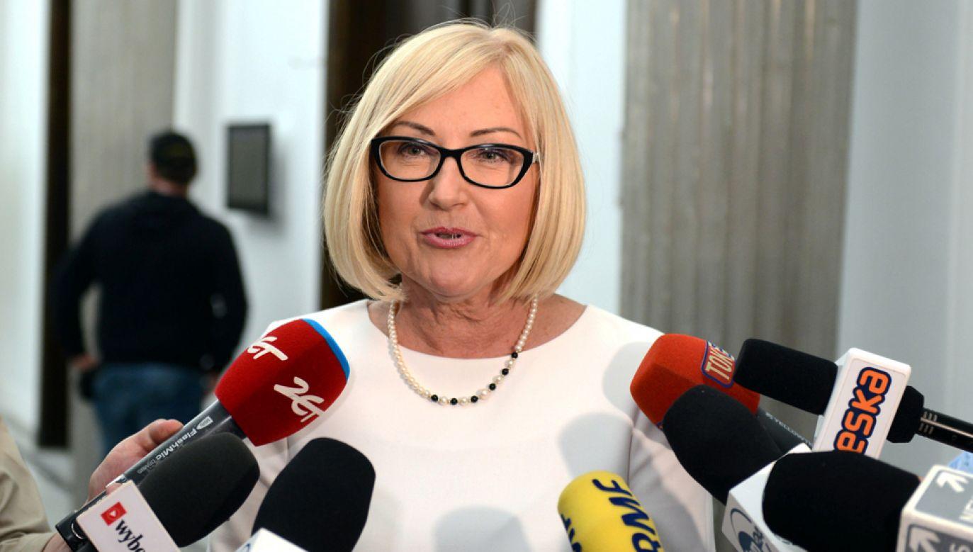 Rzecznik rządu Joanna Kopcińska (fot. arch. PAP)