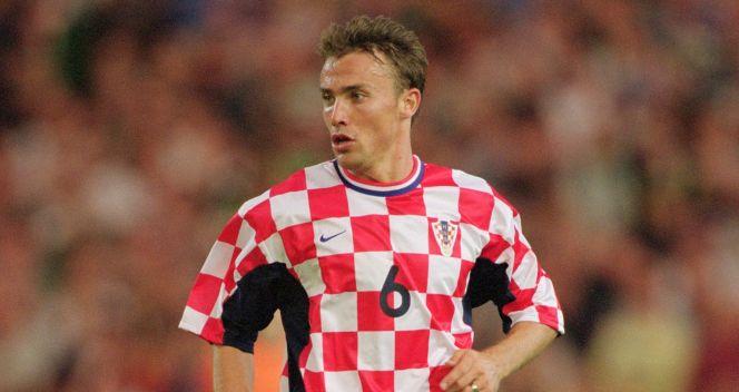 Dario Simić w reprezentacji Chorwacji rozegrał 100 spotkań  (fot. Getty Images)
