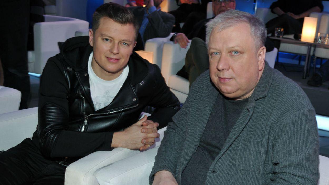 A z jakim nastawieniem do testu przystąpili Rafał Brzozowski i Marek Sierocki? (fot. TVP/K.Kurek)
