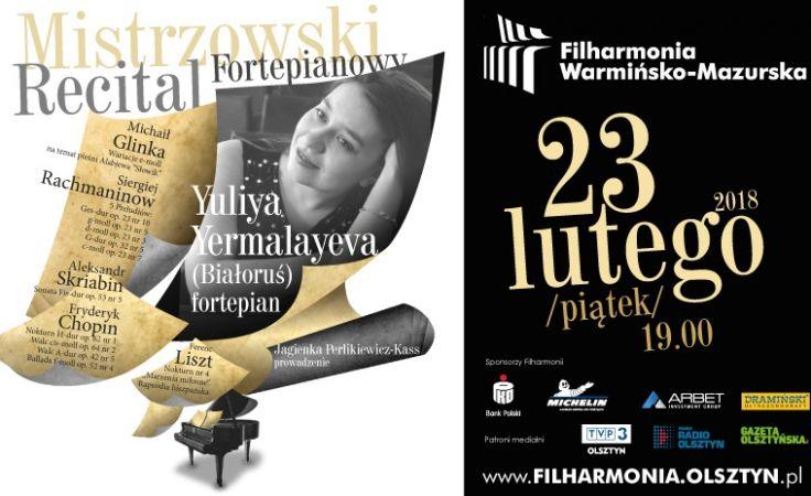 Koncert odbędzie się w piątek 23 lutego o 19