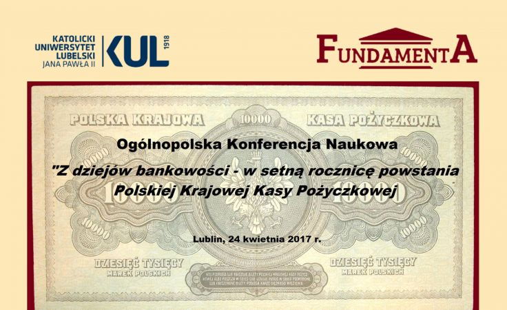 Ogólnopolska Konferencja Naukowa (plakat organizatora)