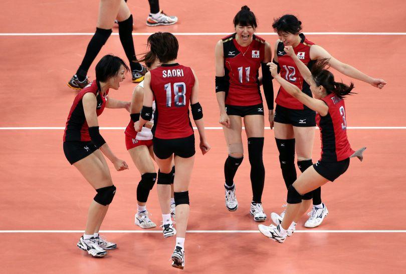 Japonki pokonały Koreę Południową 3:0 (25:22, 26:24, 25:21) (fot. Getty Images)