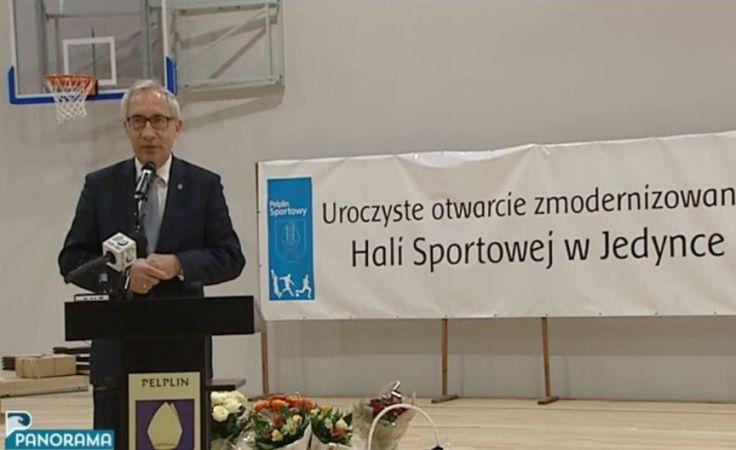 Uroczyste otwarcie sali gimnastycznej w Pelplinie