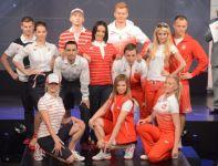 W takich strojach podczas igrzysk w Londynie będą występować nasi olimpijczycy (fot. PAP/Bartłomiej Zborowski)