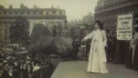 W drugiej połowie XIX wieku w Wielkiej Brytanii kobiety zaczęły organizować kampanie w walce o prawa wyborcze (fot. mat. filmowe).