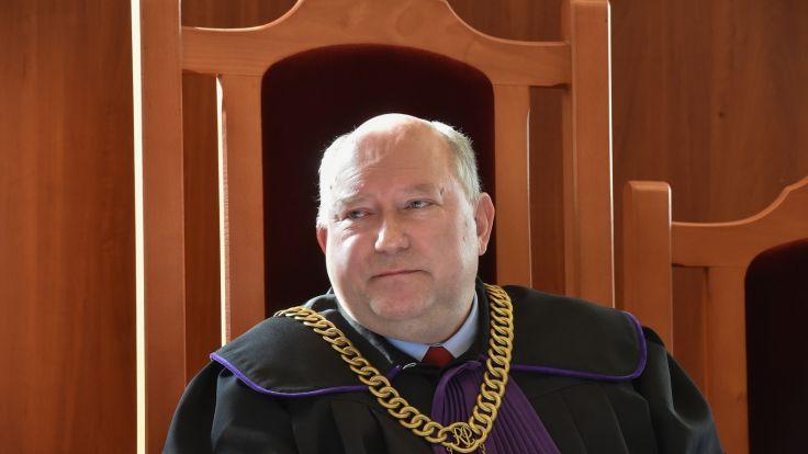 Sędzia Marek Imielski podczas rozprawy w Sądzie Rejonowym w Krakowie. Fot.  PAP Jacek Bednarczyk