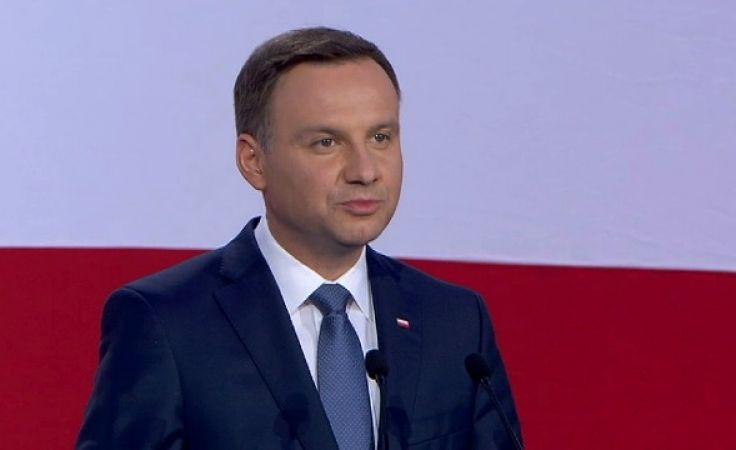 Prezydent Andrzej Duda. Kandydat Pis uzyskał 51,55 proc. głosów