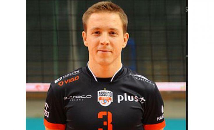 Michał Żurek ostatnio sięgnął po mistrzostwo ligi w barwach Asseco Resovii Rzeszów (fot. assecoresovia.pl)