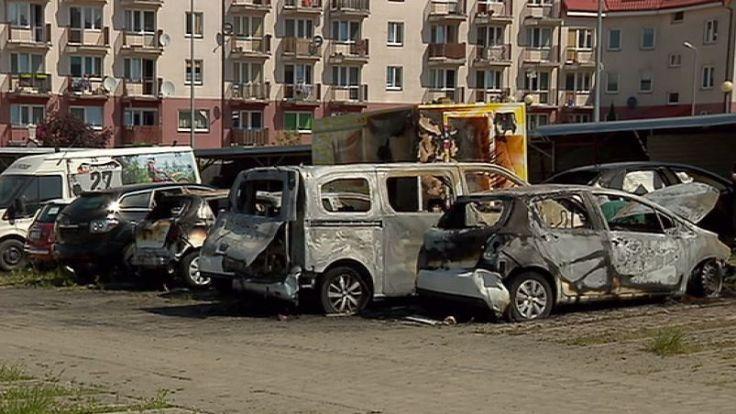 W nocy doszło do pożaru na ulicy Witosa w Olsztynie