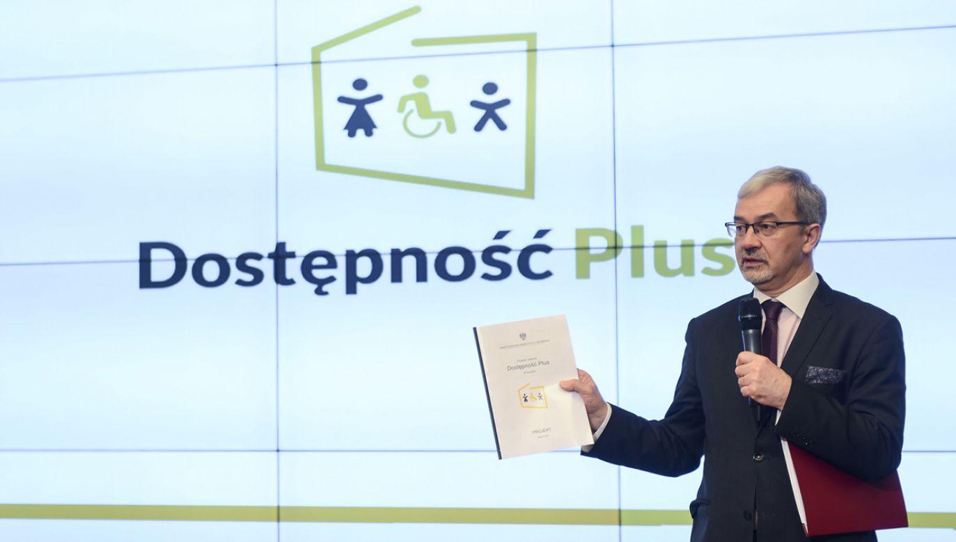 Program Dostępność Plus rusza już w przyszłym miesiącu (fot.  PAP/Jakub Kamiński)
