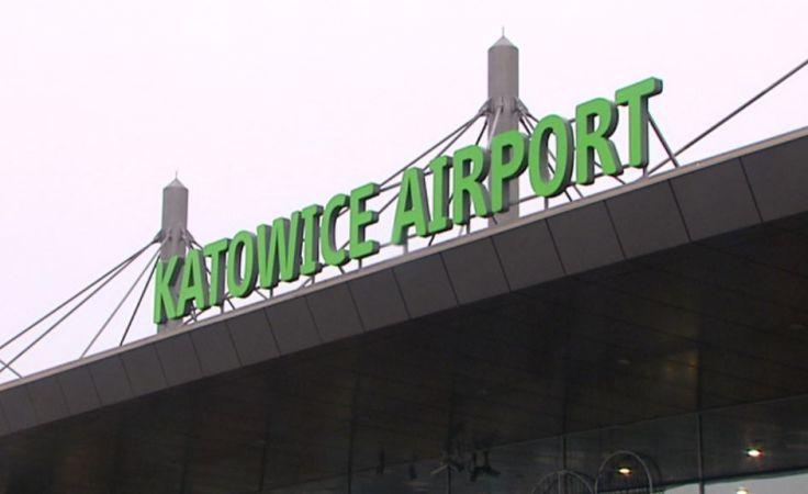 Lotnisko w Pyrzowicach.