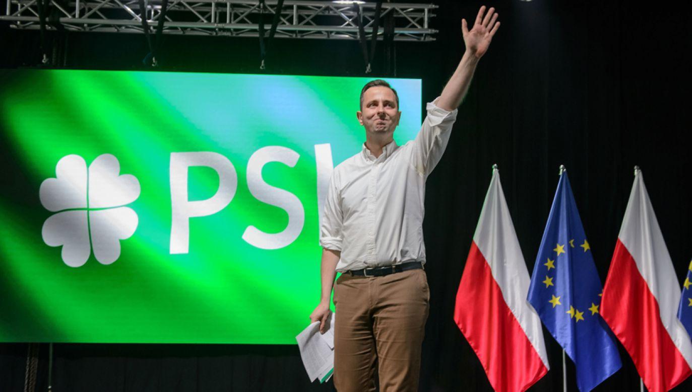 Prezes PSL Władysław Kosiniak-Kamysz (fot. PAP/Wojciech Pacewicz)