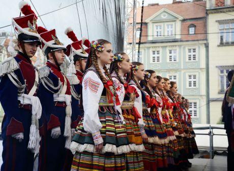 Coroczny koncert kresowy na Rynku