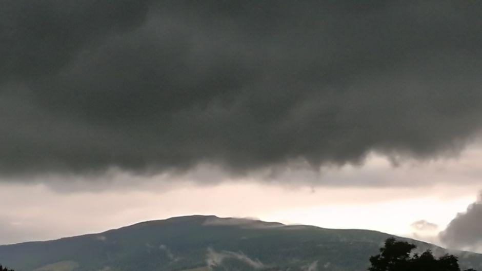 Babia Góra przed burzą (fot.Twoje Info)