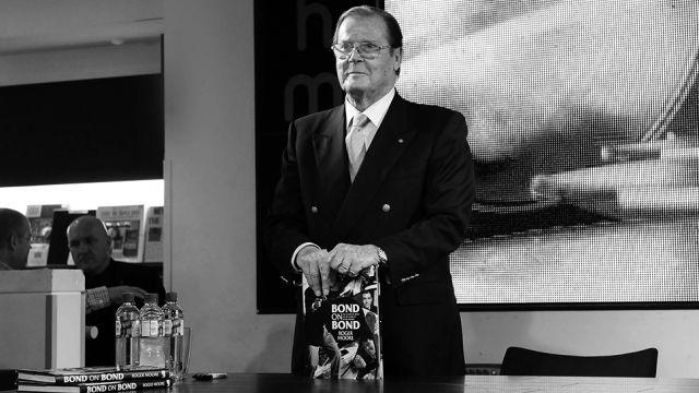 Zmarł słynny James Bond – Roger Moore