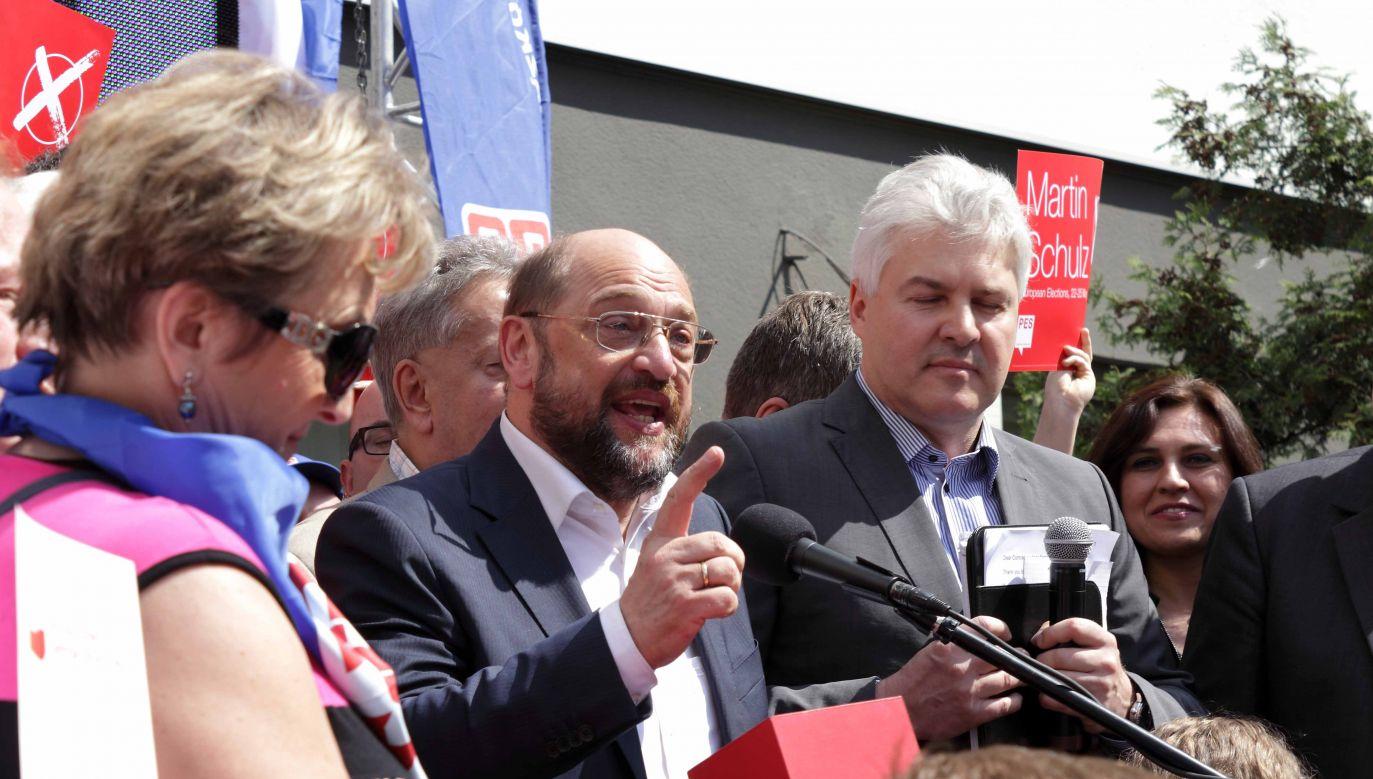 Martin Schulz w nowym rządzie Angeli Merkel ma być szefem niemieckiej dyplomacji  (fot. flickr.com /Lukas Plewnia)