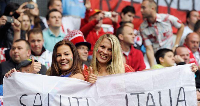 Piękny polsko-włoski sojusz (fot. Getty Images)