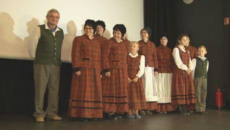 Na premierze filmu dokumentalnego o dawnych Mazurach