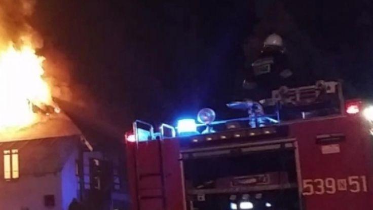 W ciągu jednego weekendu w Lidzbarku doszło do dwóch tragicznych pożarów (zdjęcie jest ilustracją do tekstu)