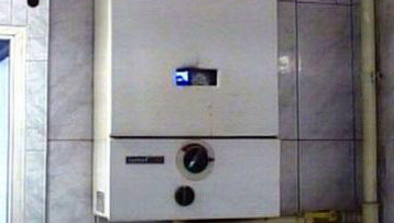 Przyczyną zatrucia był niesprawny piecyk gazowy (fot. TVP)