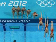 Rosyjskie pływaczki w akcji (fot.Getty Images)