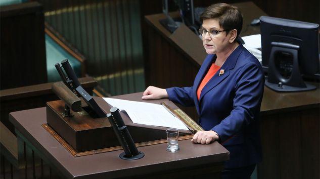 Premier Beata Szydło (fot. PAP/Leszek Szymański )