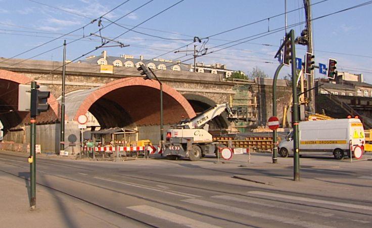 Kolejne utrudnienia na ul. Grzegórzeckiej w Krakowie