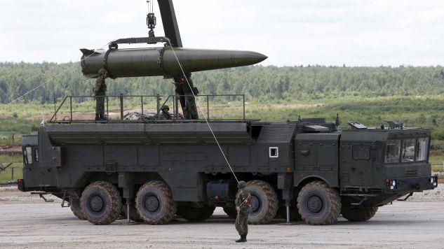 Rosyjskie rakiety typu Iskander (fot. Reuters Pictures/Sergei Karpukhin)