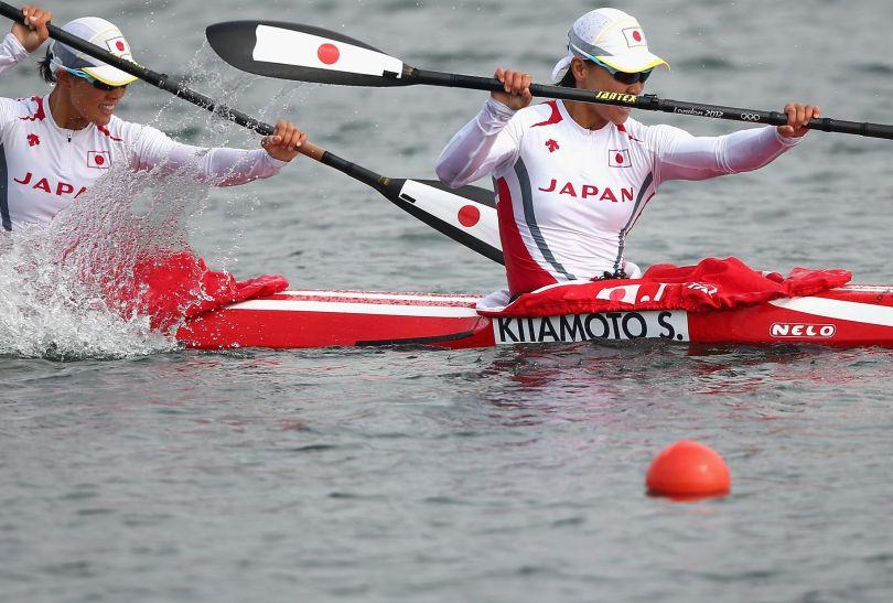 Japonki odpadły z rywalizacji K2 na 500 metrów (fot. Getty Images)