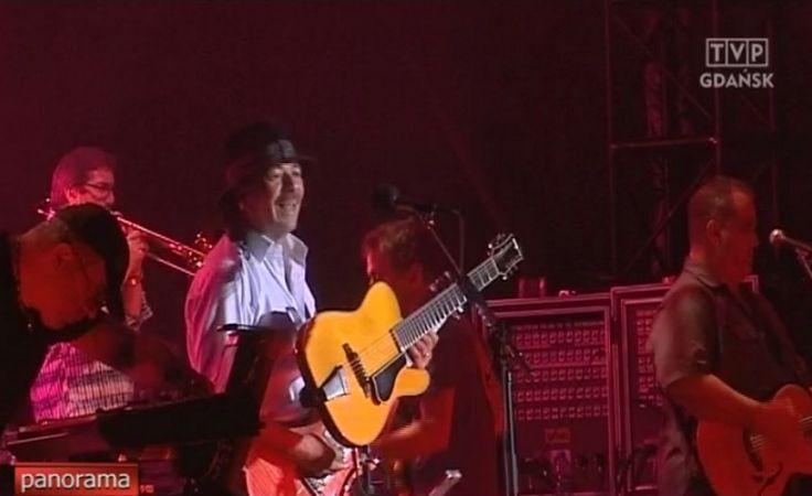Carlos Santana na Festiwalu Legend Rocka