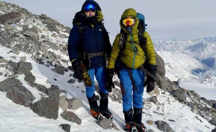 Ekspedycja zimowa na najwyższy szczyt Kaukazu (fot. facebook.com/kaukaz2018)