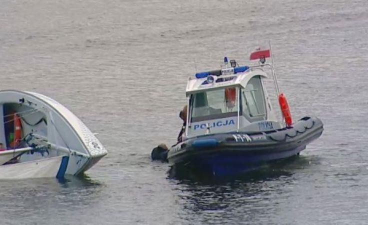 """Żaglowe przesłanie ratowników i policji: """"szlak wodny jest jak droga"""""""