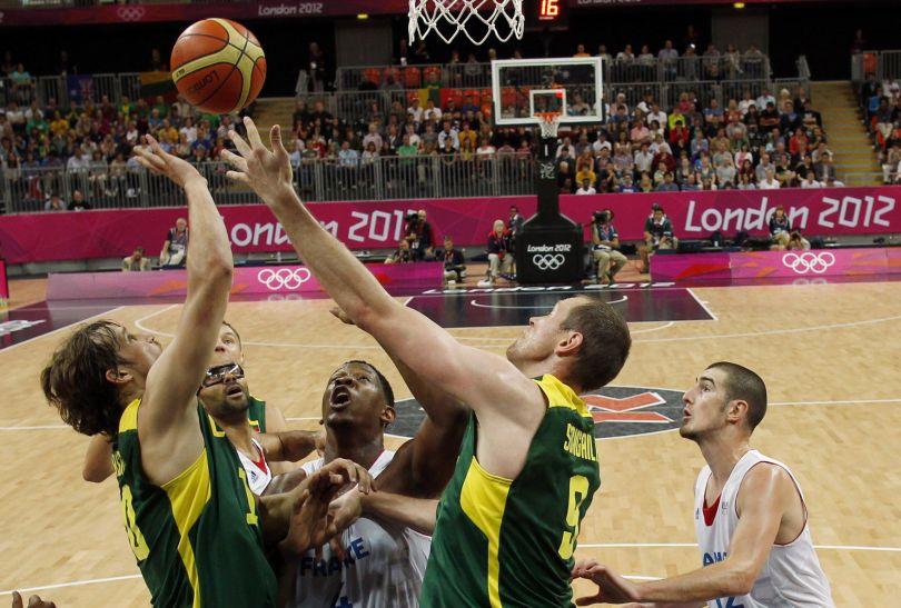 Losy meczu rozstrzygnęły się w trzeciej kwarcie wygranej przez Francuzów 20:9 (fot. Getty Images)