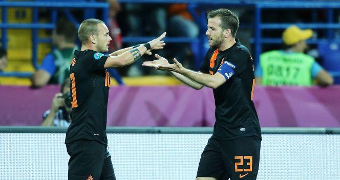 Holendrzy otworzyli wynik meczu. Później było tylko gorzej (fot. Getty)
