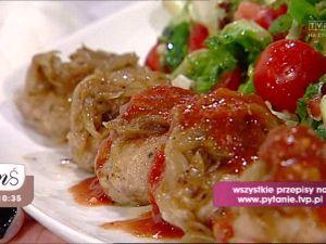 Klopsiki z sosem miodowo-pomidorowym