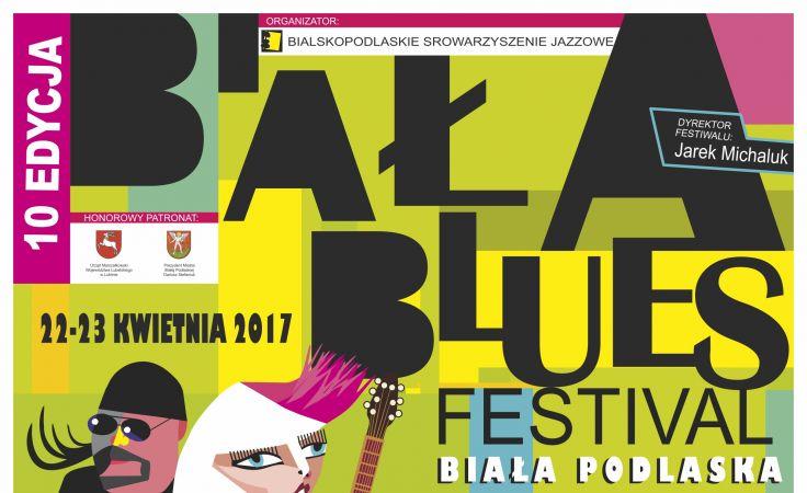 Biała Blues Festiwal (plakat organizatora)