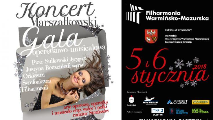Koncert marszałkowski odbędzie się 5 stycznia o 19.00, a powtórzony zostanie 6 stycznia o 18.00