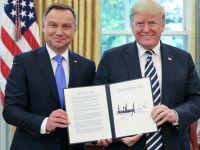 Prezydenci Polski i USA podpisali wspólną deklarację o partnerstwie strategicznym