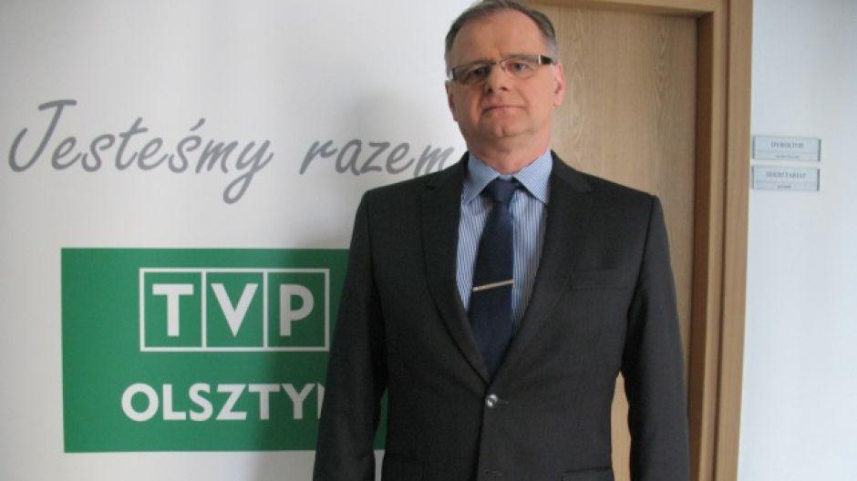 Sławomir Wójcik, dyrektor Szpitala Powiatowego w Bartoszycach.