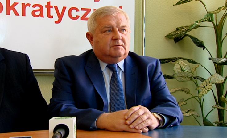SLD popiera Tadeusza Jędrzejczaka w wyborach do senatu
