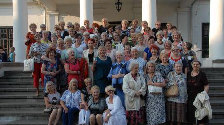 Członkinie klubu w trakcie obchodów 25-lecia działalności stowarzyszenia