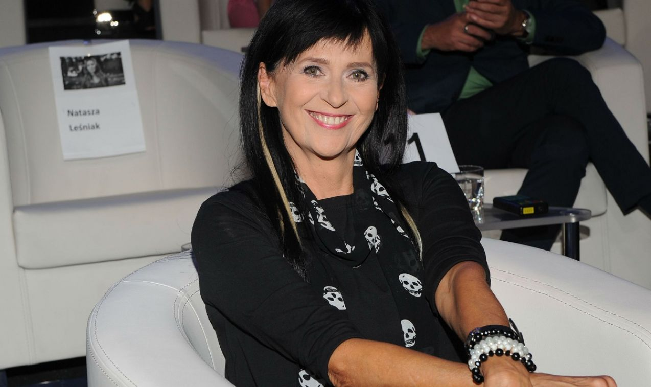 Wanda Kwietniowska poradziła sobie z najtrudniejszymi pytaniami (fot. Natasza Młudzik/TVP)