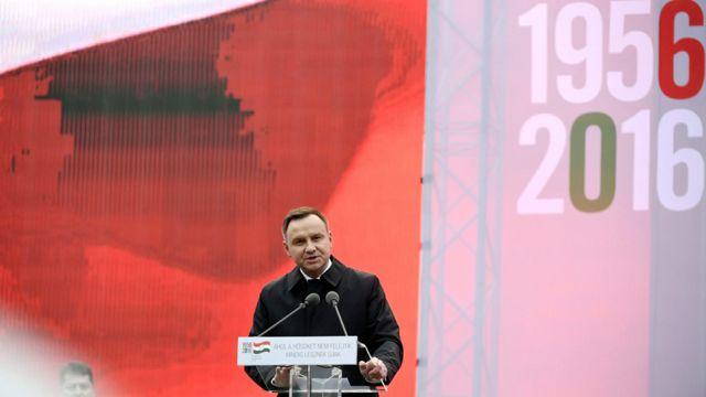 Duda do Węgrów:  ludzi mających wolność w sercu nic nie jest w stanie złamać