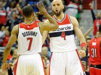 NBA: Gortat znów wielki. Szybki awans Wizards