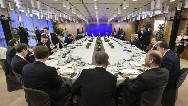 W Brukseli zakończył się dwudniowy szczyt UE (fot. PAP/EPA/JOHN THYS)