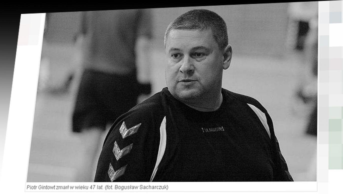 Piotr Gintowt, były trener piłkarzy ręcznych. (fot. gazetalubuska.pl)